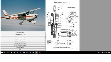 Cessna 100 series service maintenance manual 1963 thru 1968  D637-1-13