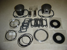 Rotax 503 piston and gasket kit O/S 1  72.25 coated aircraft engine top end set 72 mm moly coated