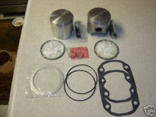 "Rotax 503 .010"" oversize piston and gasket kit for ultralight aircraft engine"