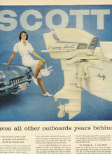 Scott Atwater Outboard motor service repair manual 1946 to 1956