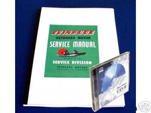 Evinrude outboard 1935 to 1961 Service manual