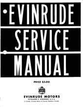 Factory manual on autorun CD covering all 1912-1945 evinrude