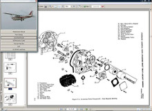 Cessna 172RG maintenance service manual set n engine 1980 to 85 172 RG manuals D2066-1-13 w A/Ds.