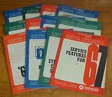 1970 DODGE CHRYSLER PLYMOUTH MASTER TECHNICIAN MANUAL SET
