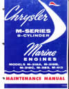 Chrysler outboard 35 45 50 55  service repair manual 1966 - 1968