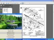 Cessna 185 service maintenance repair manual set n engine manuals w A/Ds.