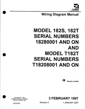 cessna 182 wiring diagram electrical manual 182s 182t 182swd download rh aeroteks com cessna 208 wiring diagram cessna 172 wiring diagram