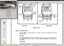 Cessna 340 maintenance service  manual library n engine all years 340 340A D930-29-13 w A/Ds.