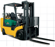 Komatsu CX series fork lift truck parts manual