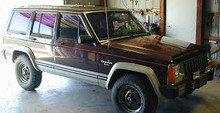 Jeep  XJ cherokee  factory parts manual 2000