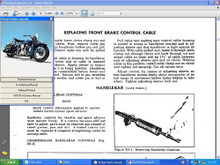 "Harley Servi car Motorcycle parts manual 1951 - 1957 WL 46 - 52 OHV 74"" 61"""