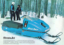 1974 sno jet thunderjet  snowmobile parts  manual  all models