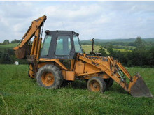 Case 580D 580 D loader backhoe tractor service manual