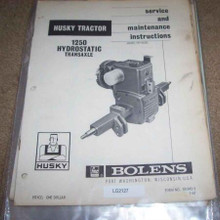 Bolens Eaton 10 transaxle hydrostatic repair manual