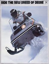 John Deere  snowmobile service repair  manual  1975 all models
