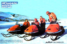 AMF Ski Daddler snowmobile service repair n parts manual 1965 to 1972