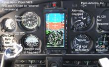 King bendix avionics Avionics installation manual nav-com KX155 KX165