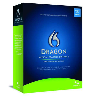 Dragon Medical Practice Edition 2 Box Image