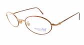 Marcolin Designer Eyeglasses 6454 in Bronze 48 mm :: Rx Progressive
