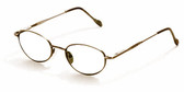 Reptile Designer Eyeglasses Gecko in Bronze :: Rx Progressive