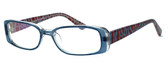 Moda Vision 8004 Designer Eyeglasses in Blue :: Rx Bi-Focal