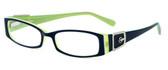Calabria Designer Eyeglasses 814 Indigo :: Rx Bi-Focal
