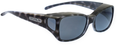 Jonathan Paul® Fitovers Eyewear Medium Dahlia in Black-Cheetah & Gray DL001