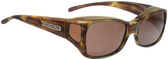 Jonathan Paul® Fitovers Eyewear Medium Dahlia in Tiger-Eye & Amber DL003A