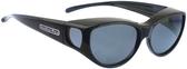 Jonathan Paul® Fitovers Eyewear Medium Ikara in Midnite-Oil & Gray IK001