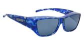 Jonathan Paul® Fitovers Eyewear Large Neera in Blue-Blast & Gray NR002