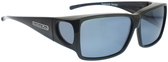 Jonathan Paul® Fitovers Eyewear Large Orion in Midnite-Oil & Gray ON001