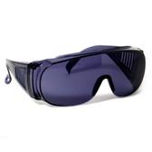 1003S Over Glasses UV Protection in Smoke