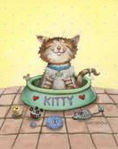 Cat Humor 240 23b 3 Artist Micro Fiber Cleaning Cloth