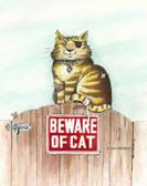 Cat Humor 240 23b 5 Artist Micro Fiber Cleaning Cloth
