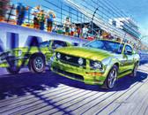 Racing Cars 240-93-1 Artist Micro Fiber Cleaning Cloth