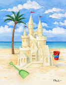 Beach Sand Castle 240-10d-3 Artist Micro Fiber Cleaning Cloth