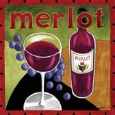 Merlot Wine Artist 240-25a-4 Micro Fiber Cleaning Cloth