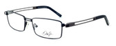 Dale Earnhardt, Jr. 6782 Designer Eyeglasses in Black-Gunmetal :: Progressive