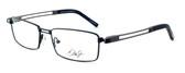 Dale Earnhardt, Jr. 6782 Designer Eyeglasses in Black-Gunmetal :: Rx Bi-Focal
