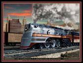 Train Themed 240-32-2 Artist Micro Fiber Cleaning Cloth