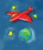 Space Plane 240-01d-2 Artist Micro Fiber Cleaning Cloth