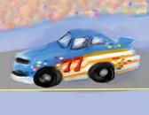 Race Car 240-01d-5 Artist Micro Fiber Cleaning Cloth