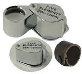Professional Quality Four Elements Quadruplet Jewelers Loupe