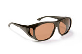 Haven Designer Fitover Sunglasses Summerwood in Tortoise & Polarized Amber Lens (LARGE)