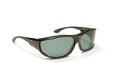 Haven Designer Fitover Sunglasses Malloy in Black & Polarized Grey Lens (MEDIUM/LARGE)