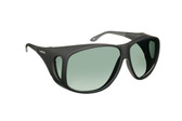 Haven Designer Fitover Sunglasses Banyan in Black & Polarized Grey Lens (XL)
