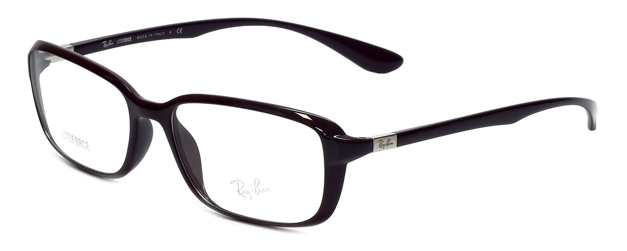 bdbfc7f408 Ray-Ban Designer Reading Glasses RX7037-5432 in Violet 56mm - Low ...