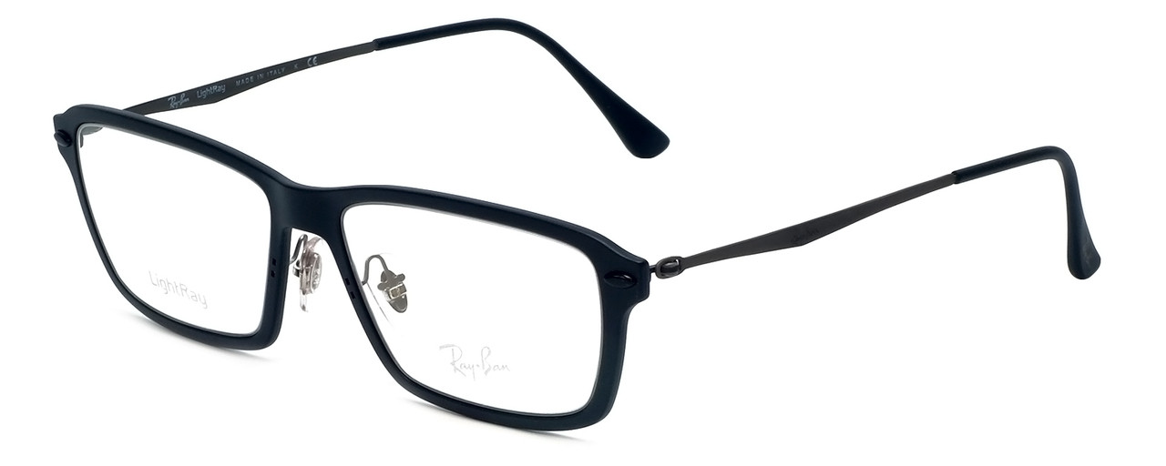 abd4bdf413 Ray-Ban Designer Reading Glasses RX7038-2077 in Matte-Black 53mm ...