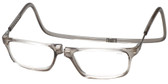 Clic Magnetic Eyewear Long Fit Executive Style in Smoke :: Rx Single Vision