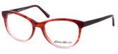 Eddie Bauer Designer Reading Glasses EB8295 in Matte-Burgundy Fade 52mm